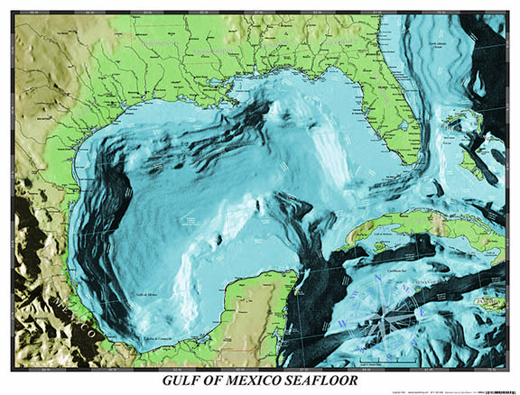 Download Free Gulf of Mexico Maps
